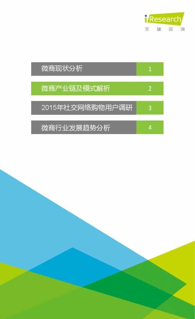 2015年中国微商市场研究报告_000009