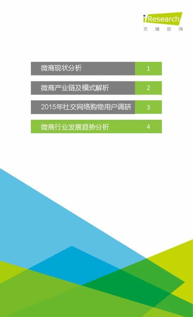2015年中国微商市场研究报告_000031