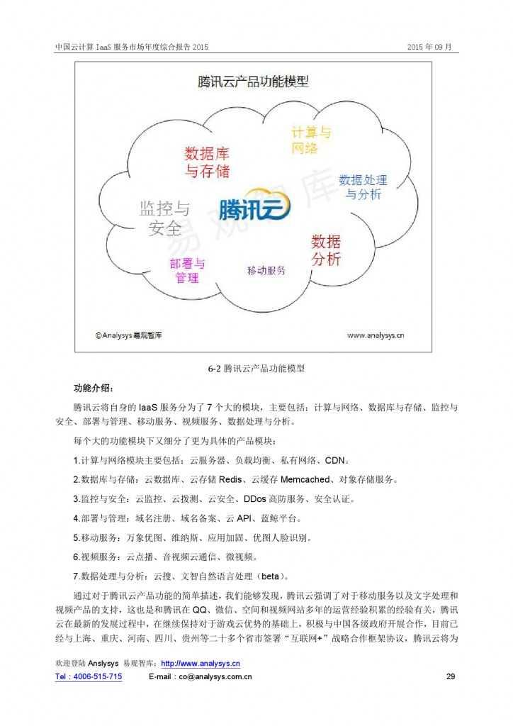 中国云计算 IaaS 服务市场年度综合报告2015 01_000029