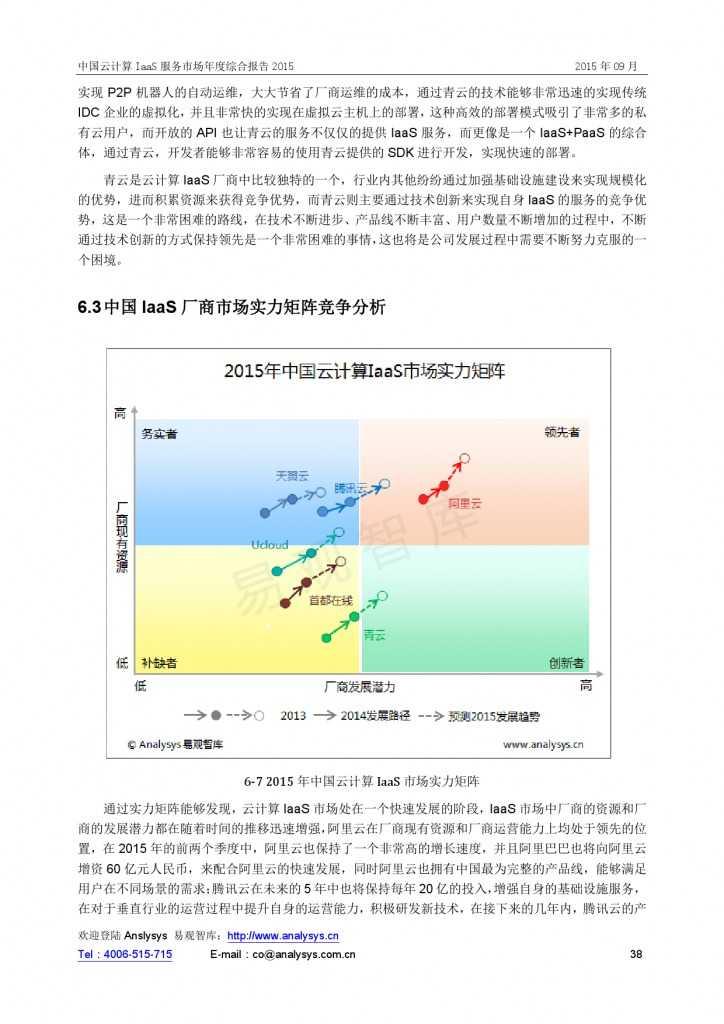 中国云计算 IaaS 服务市场年度综合报告2015 01_000038