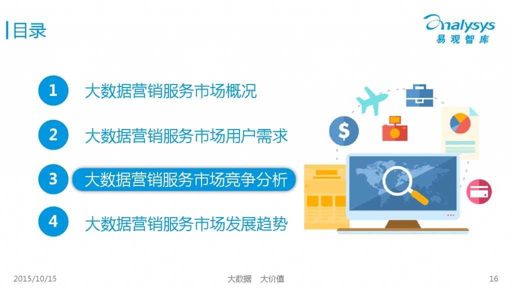 中国大数据营销服务市场专题研究报告2015 01_000016