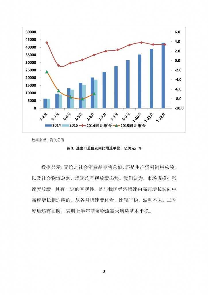 商务部:2015上半年中国商贸物流 运行报告_000006