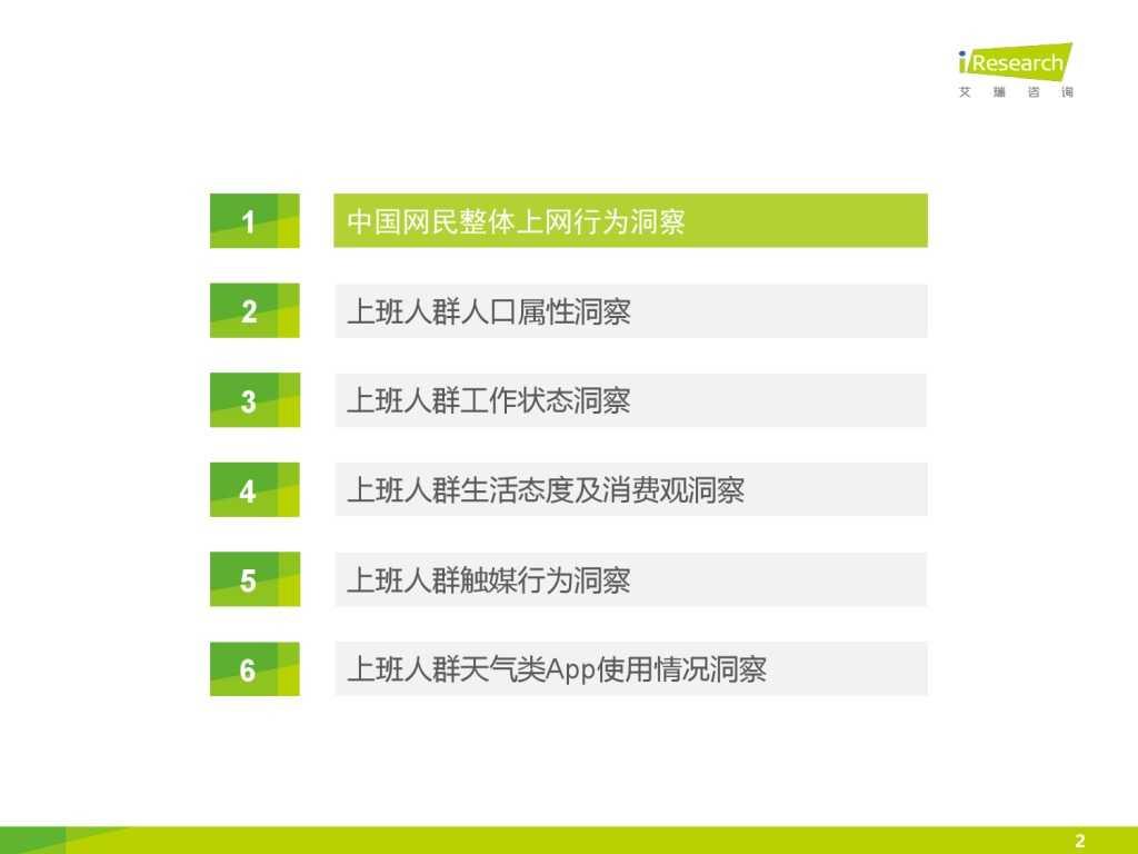 艾瑞_2015年中国上班人群洞察报告_000002