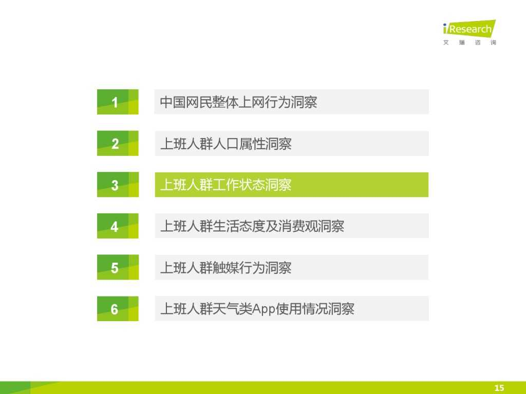 艾瑞_2015年中国上班人群洞察报告_000015