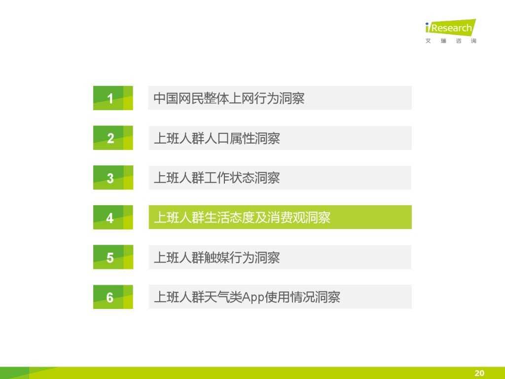 艾瑞_2015年中国上班人群洞察报告_000020