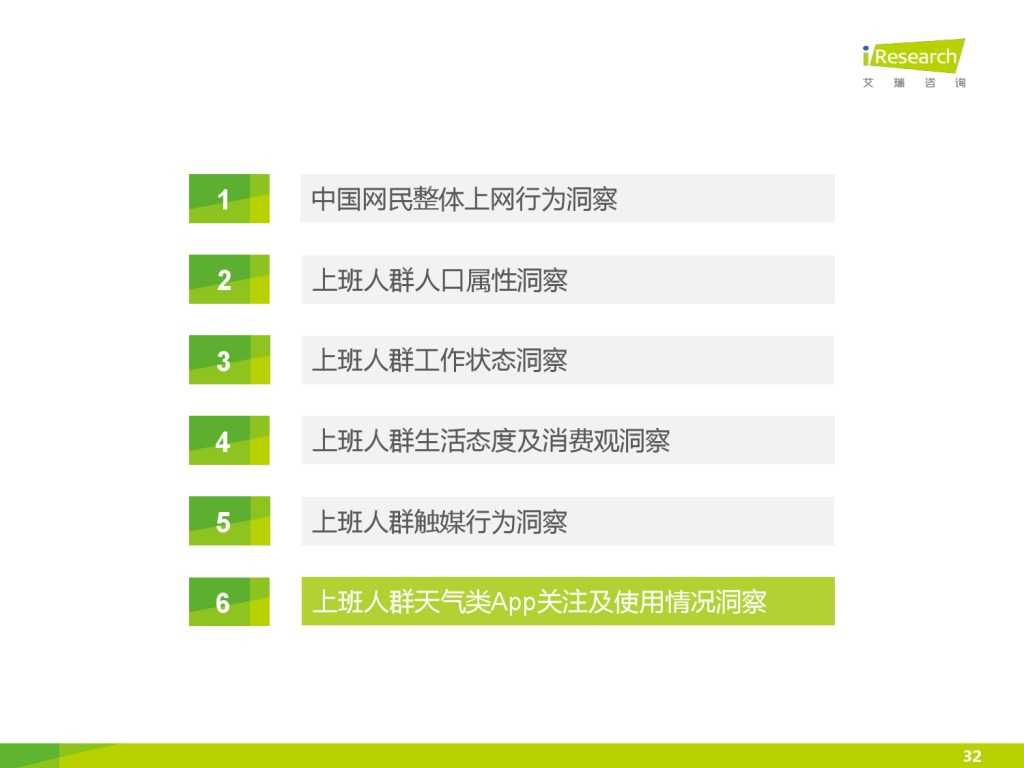 艾瑞_2015年中国上班人群洞察报告_000032