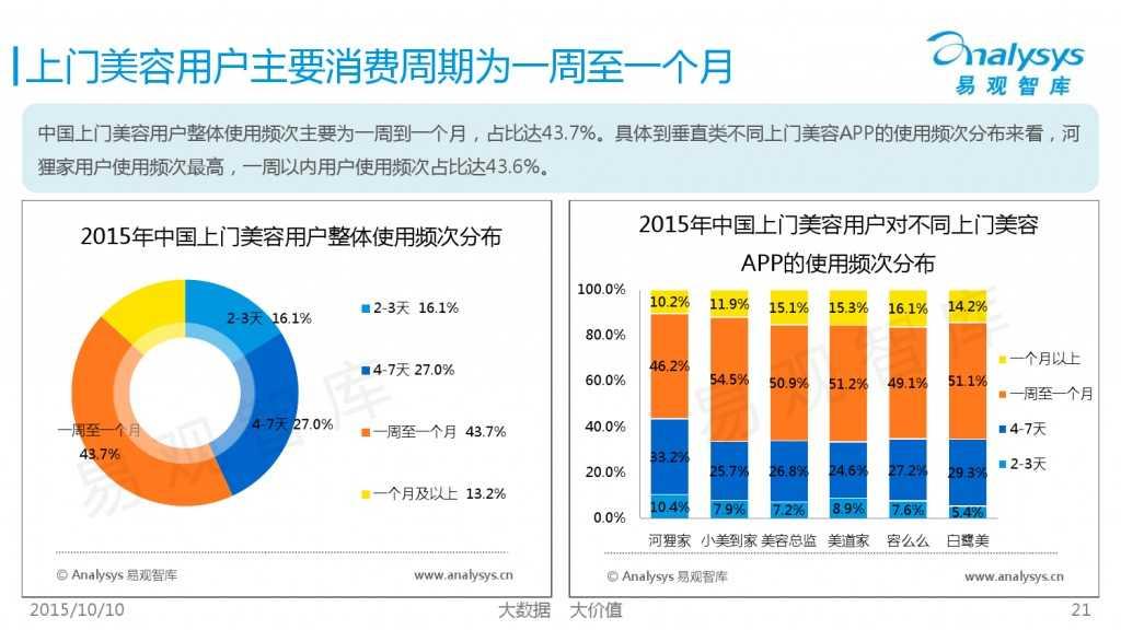 2015年中国上门美容市场专题研究报告_000021