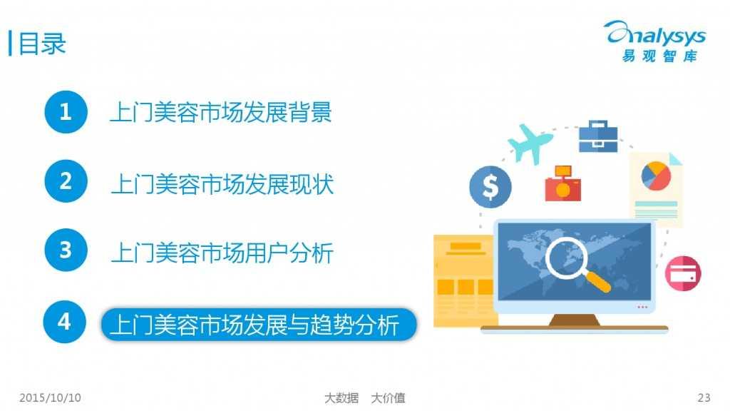2015年中国上门美容市场专题研究报告_000023