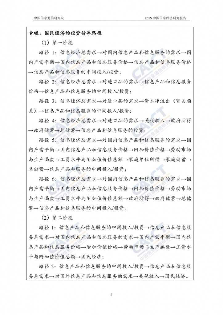 2015年中国信息经济研究报告_000015