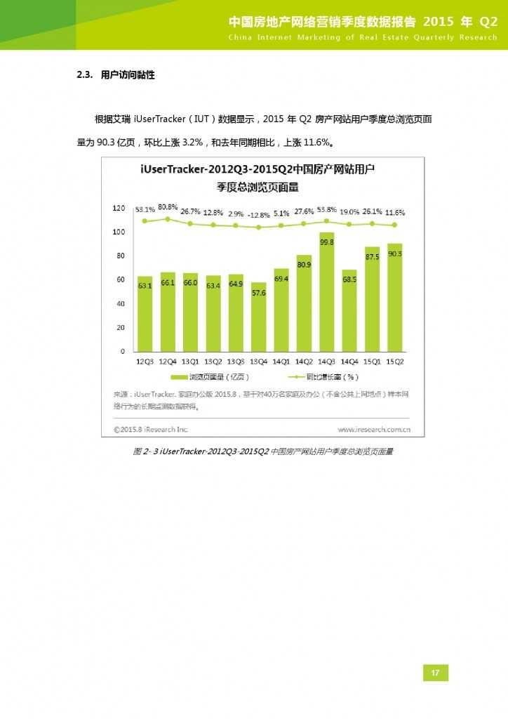 2015年Q2中国房地产网络营销季度数据报告_000018
