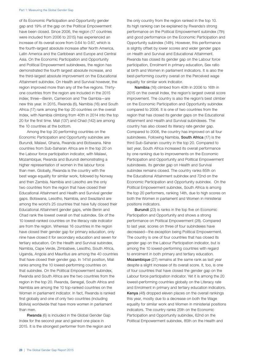 世界经济论坛:2015年全球性别差距报告_000036