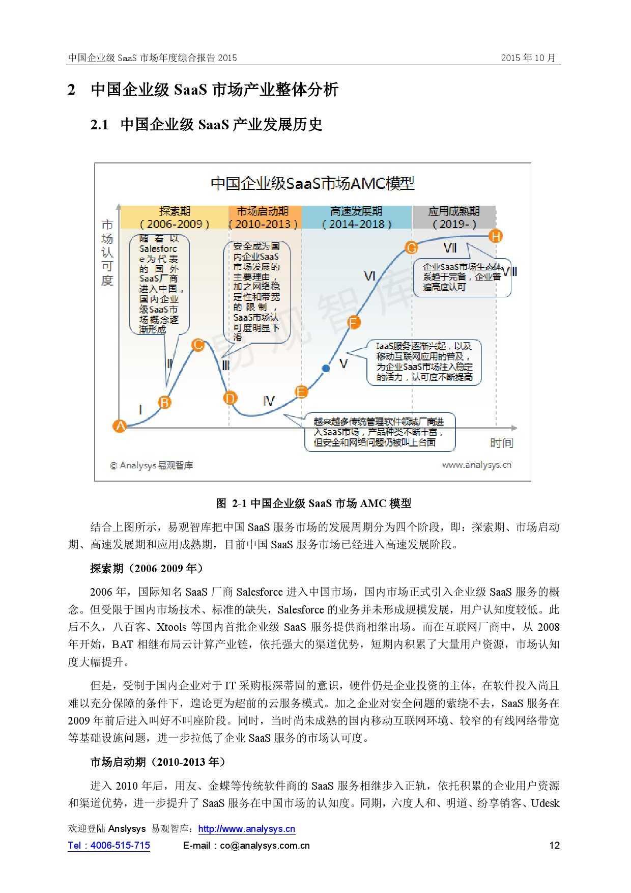 中国企业级SaaS市场年度综合报告2015 01_000012