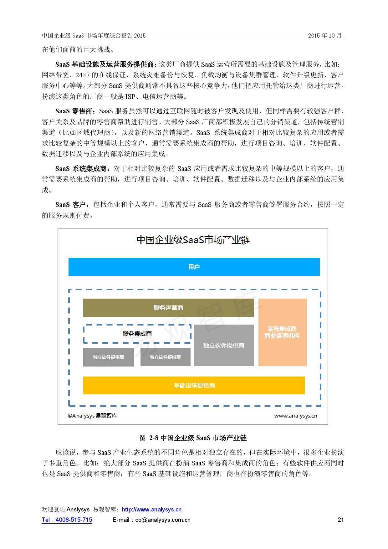 中国企业级SaaS市场年度综合报告2015 01_000021