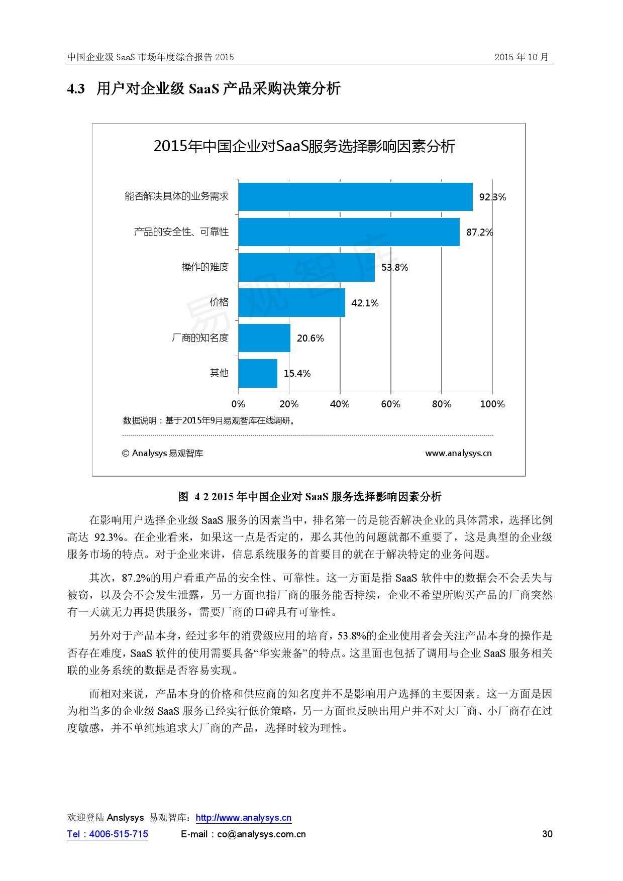 中国企业级SaaS市场年度综合报告2015 01_000030