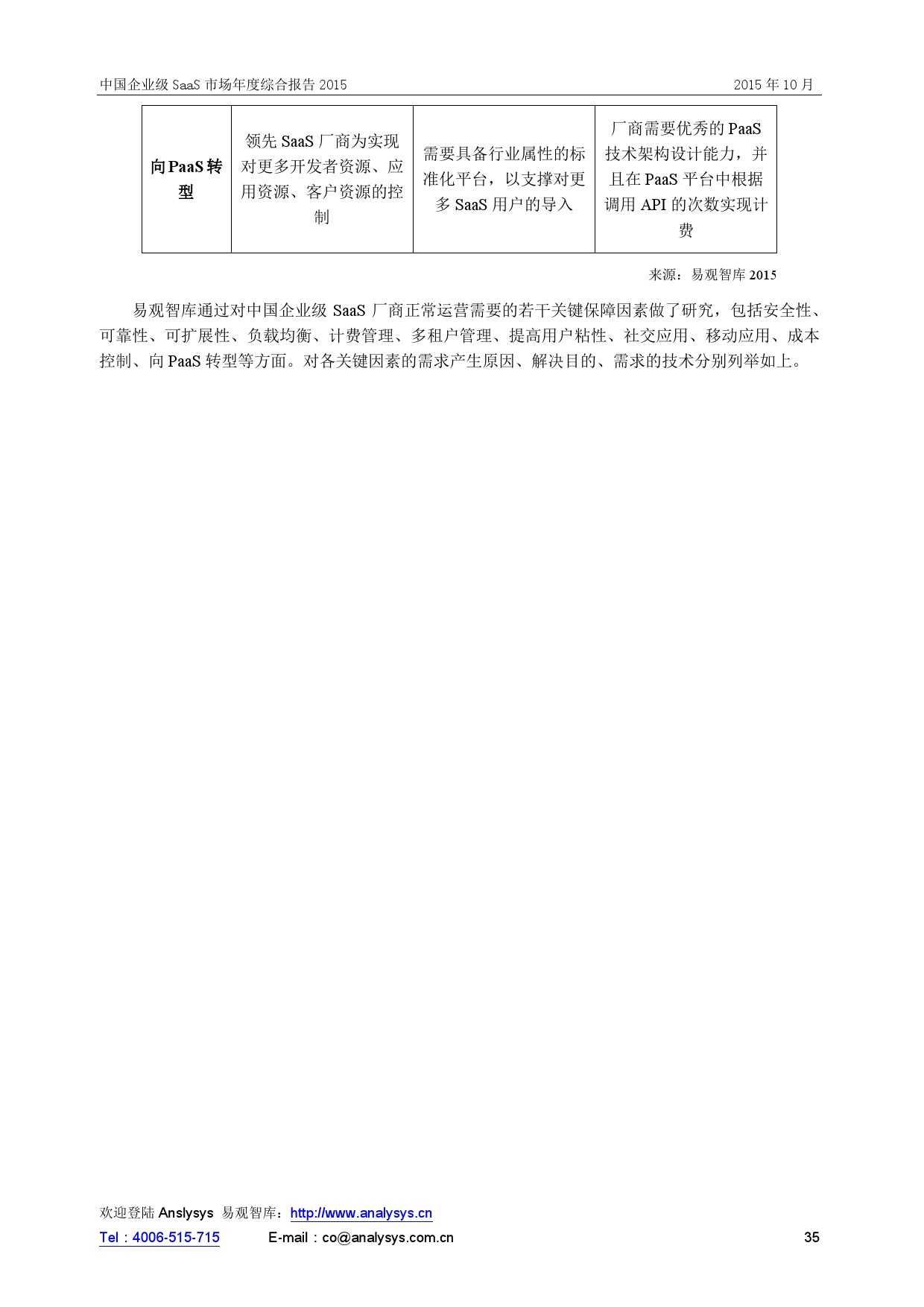 中国企业级SaaS市场年度综合报告2015 01_000035
