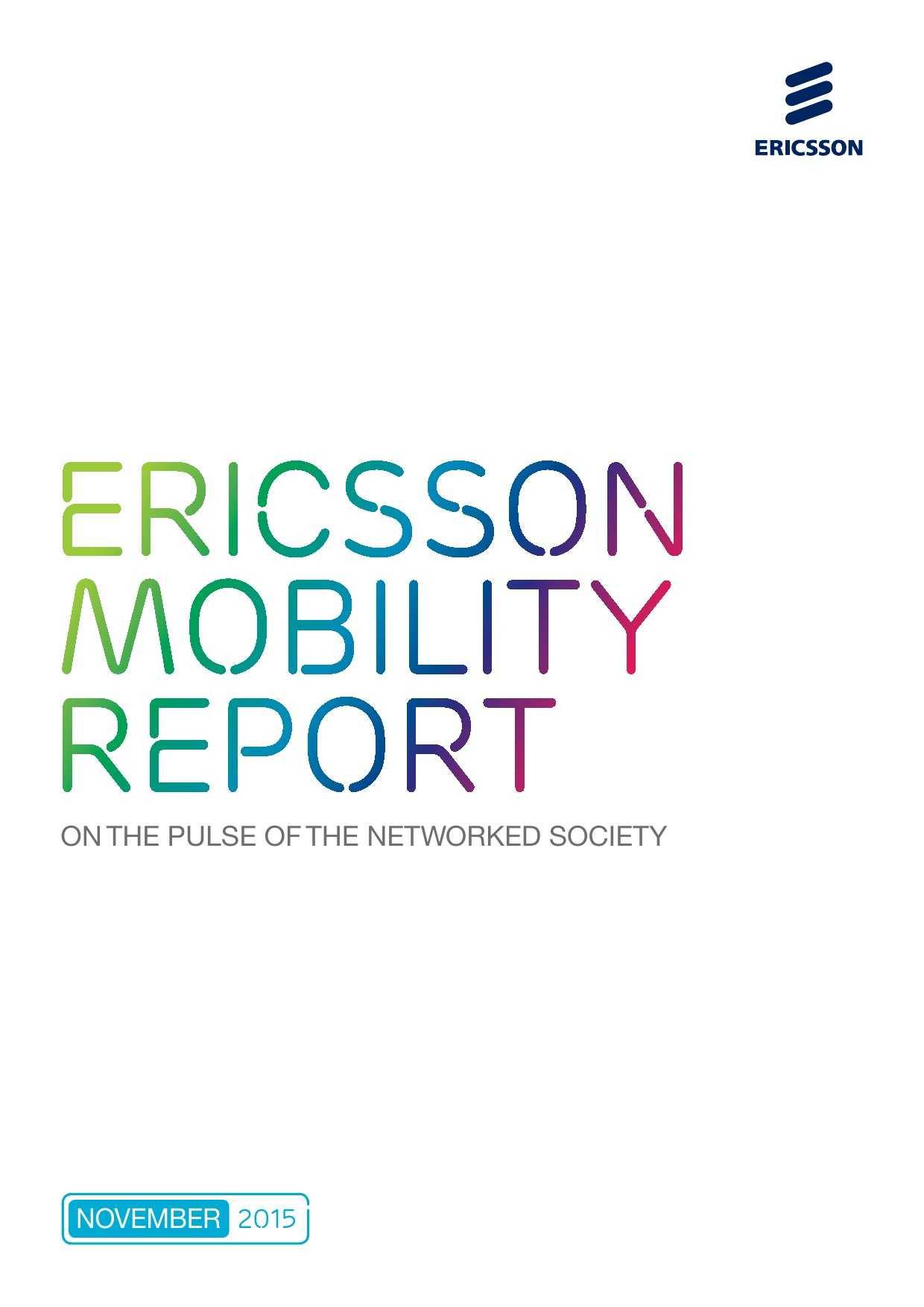 爱立信:2015年移动市场报告_000001