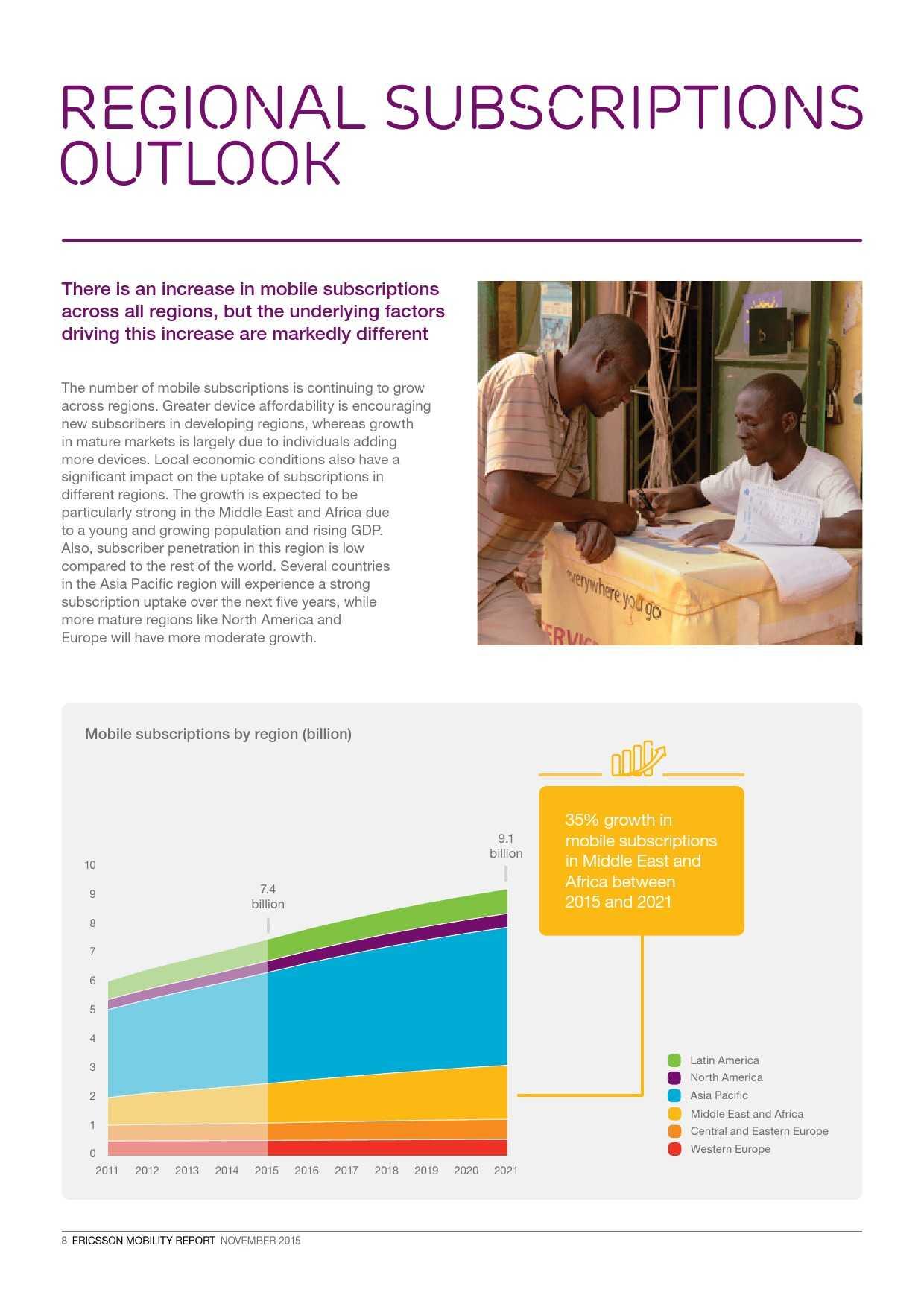 爱立信:2015年移动市场报告_000008
