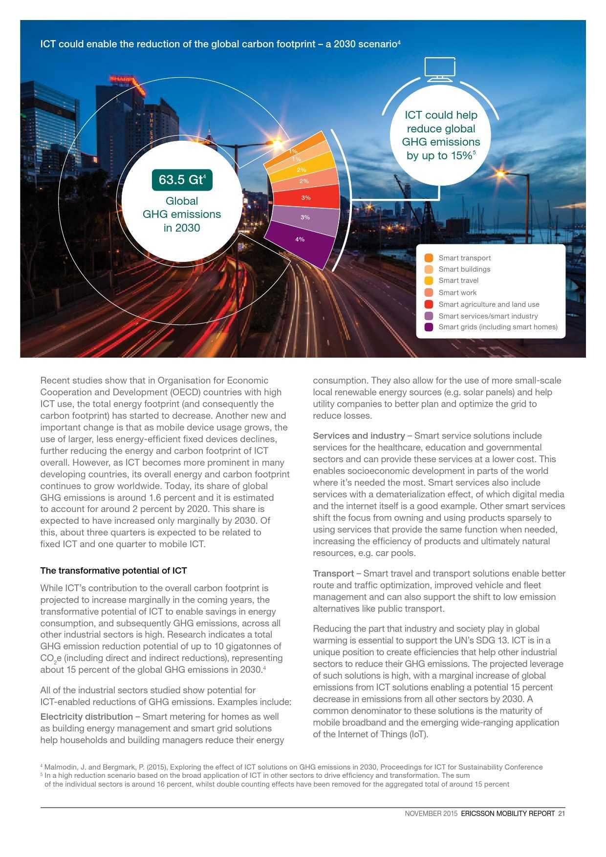 爱立信:2015年移动市场报告_000021
