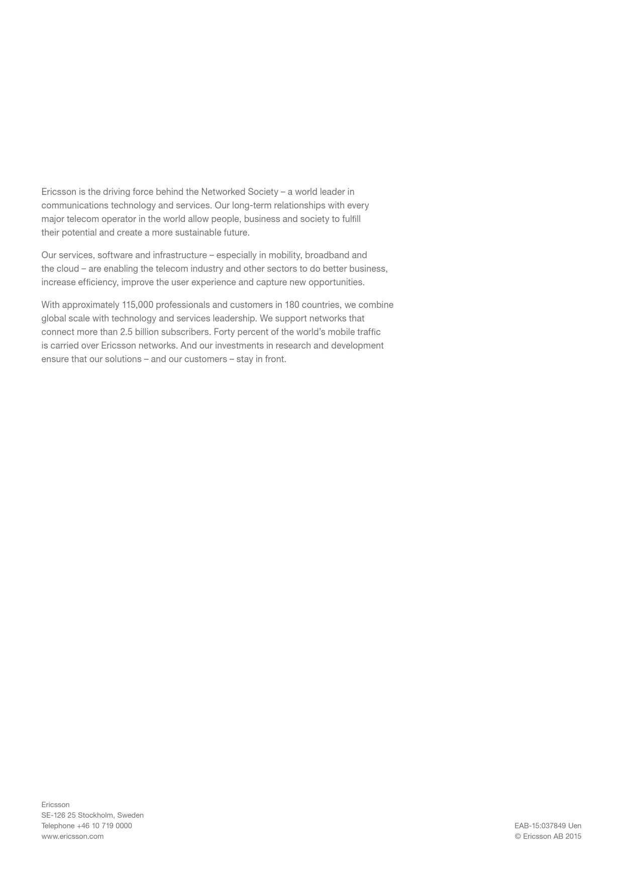 爱立信:2015年移动市场报告_000032