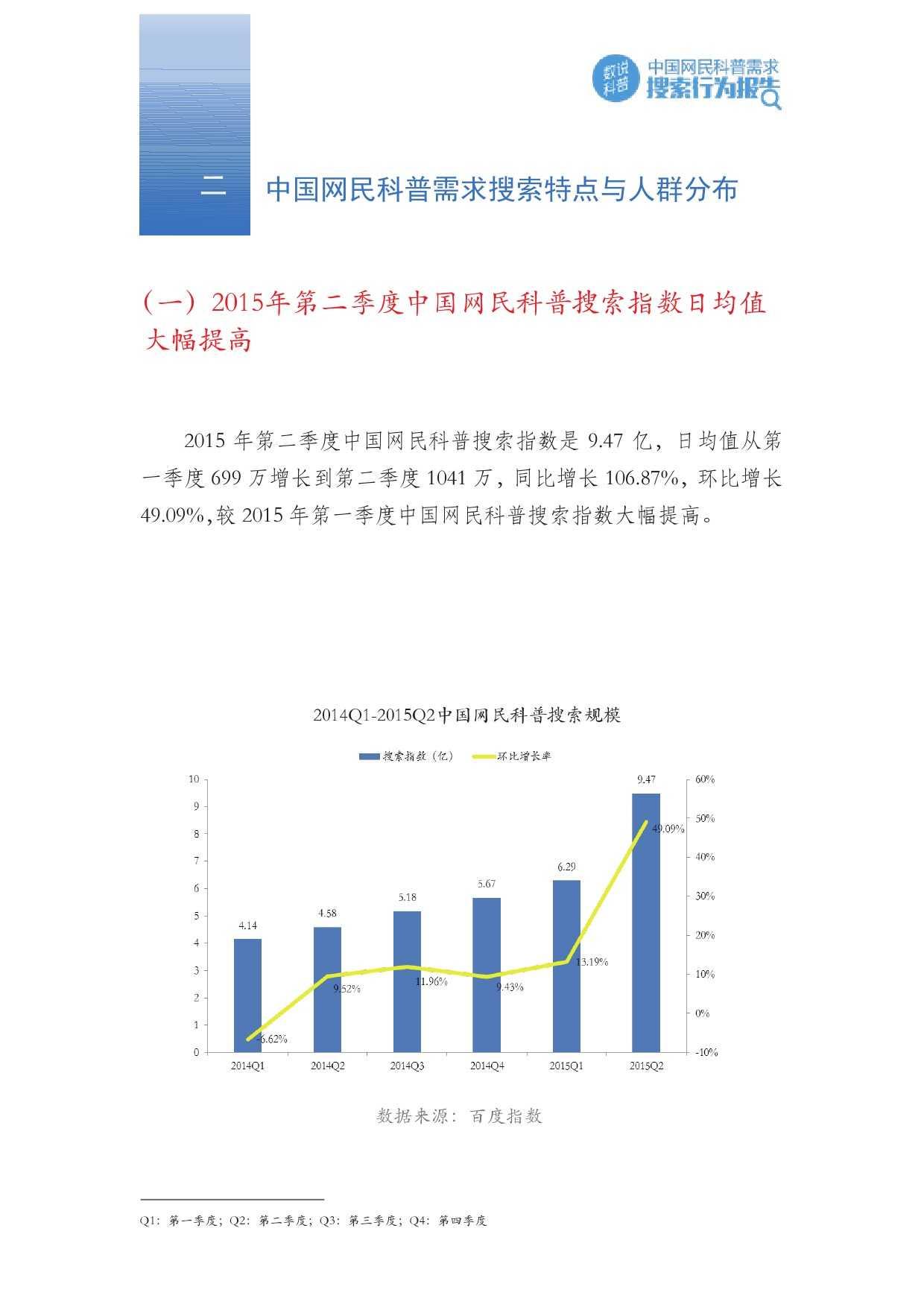 百度:2015年Q2中国网民科普需求搜索行为报告_000005