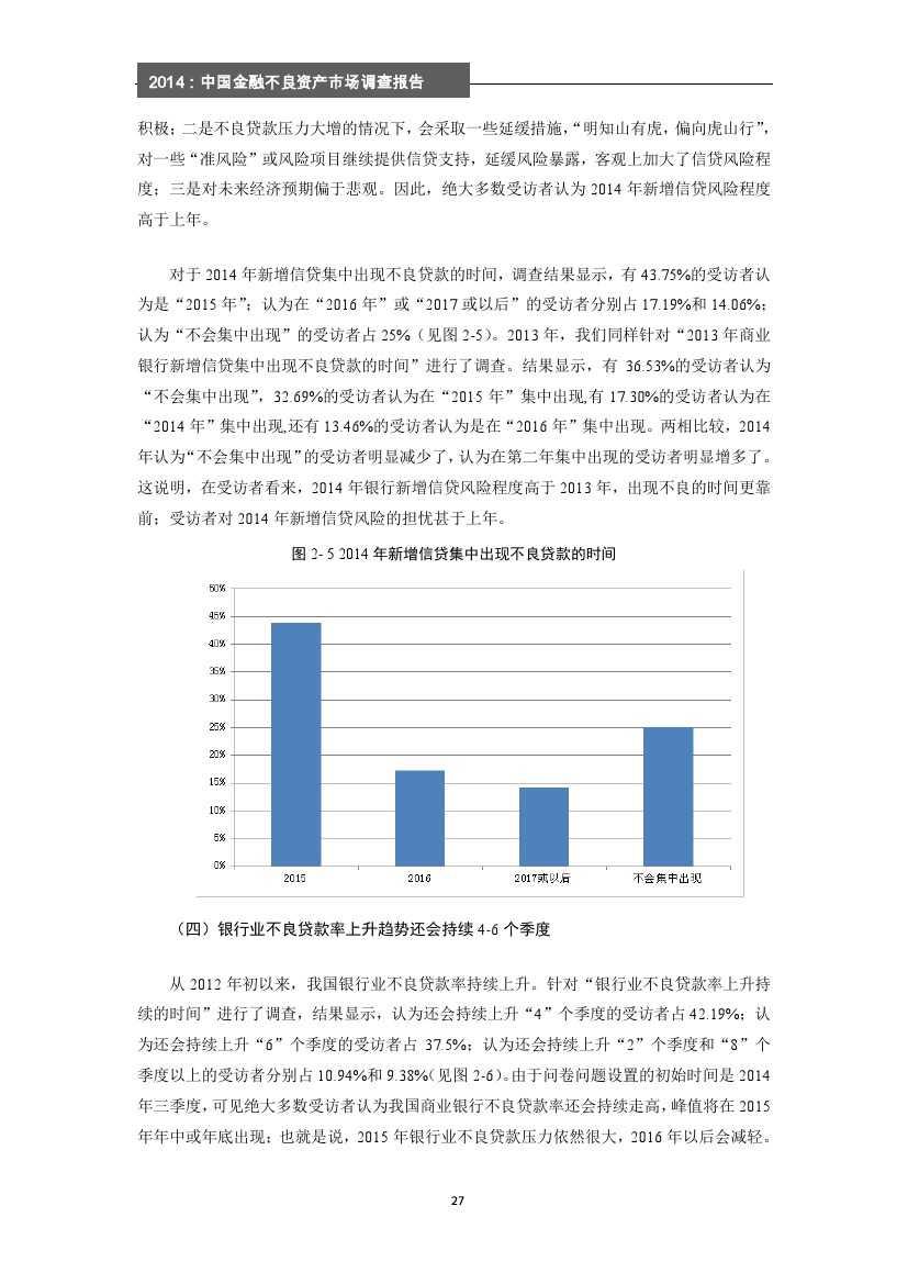 2014年中国金融不良资产市场调查报告_000033