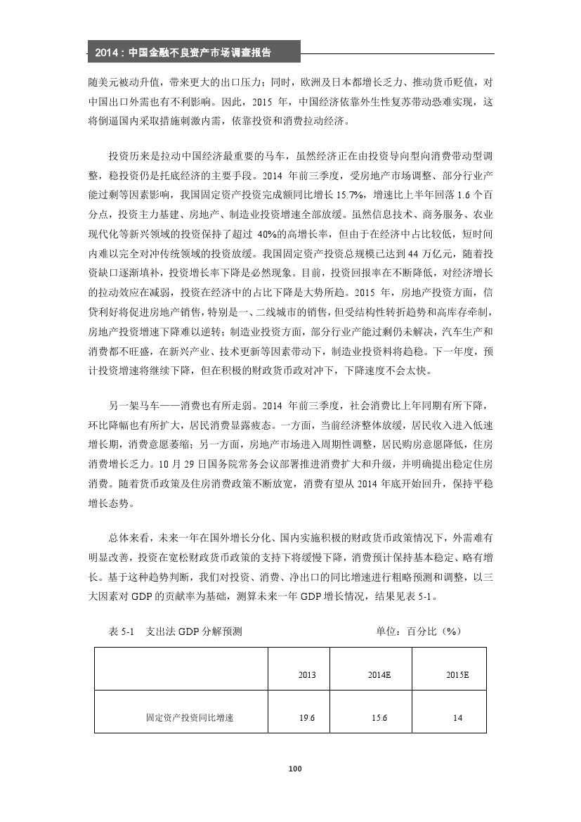 2014年中国金融不良资产市场调查报告_000106