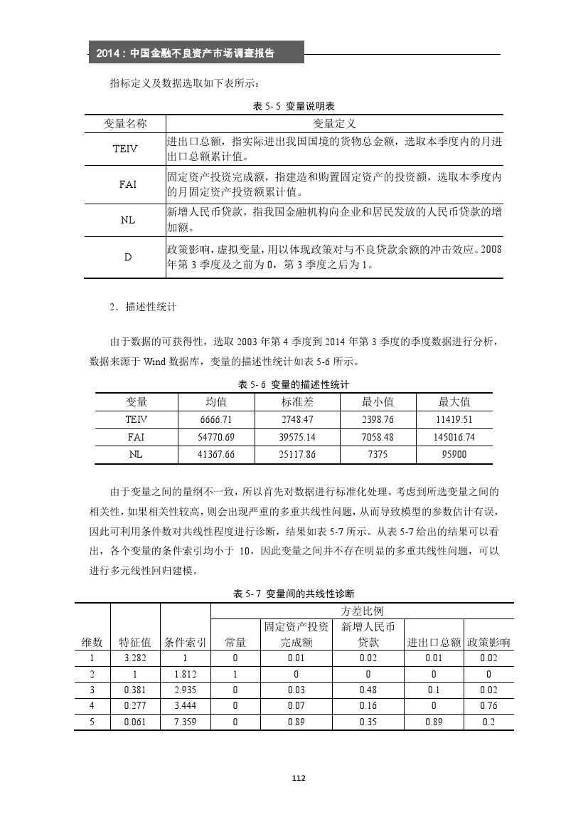 2014年中国金融不良资产市场调查报告_000118