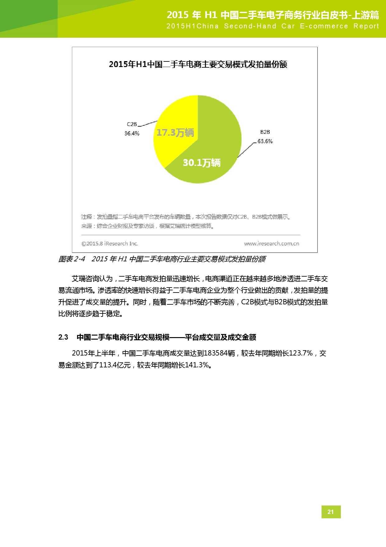 2015年中国二手车电子商务行业白皮书-上游篇_000022