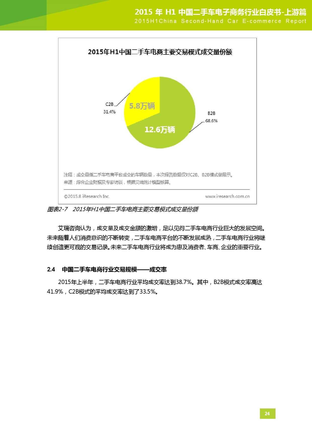 2015年中国二手车电子商务行业白皮书-上游篇_000025