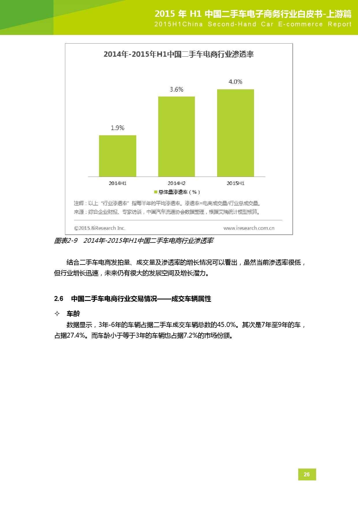 2015年中国二手车电子商务行业白皮书-上游篇_000027