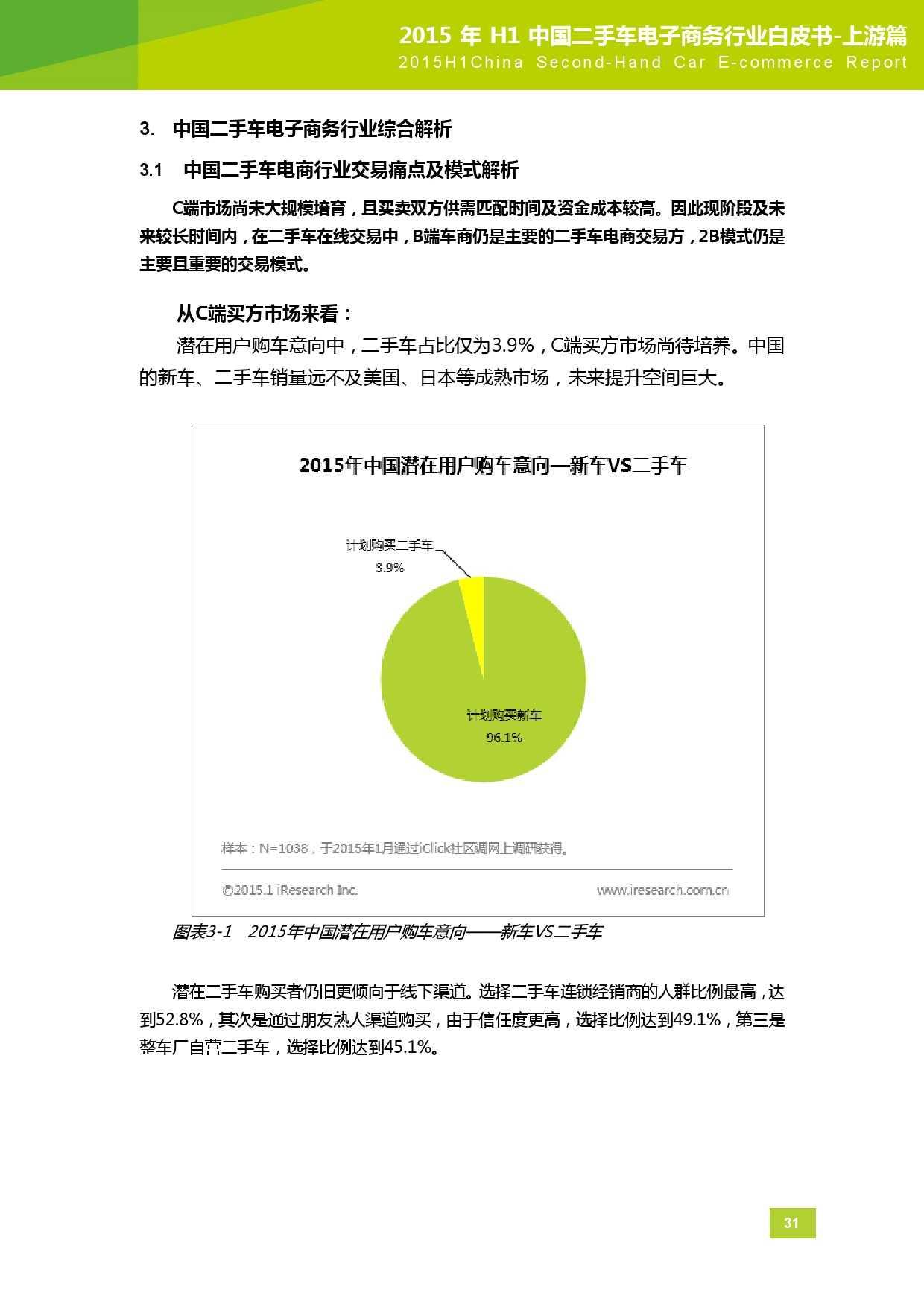 2015年中国二手车电子商务行业白皮书-上游篇_000032
