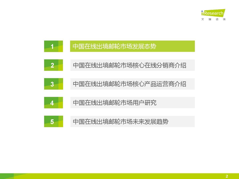 2015年中国在线出境邮轮市场研究报告_000002
