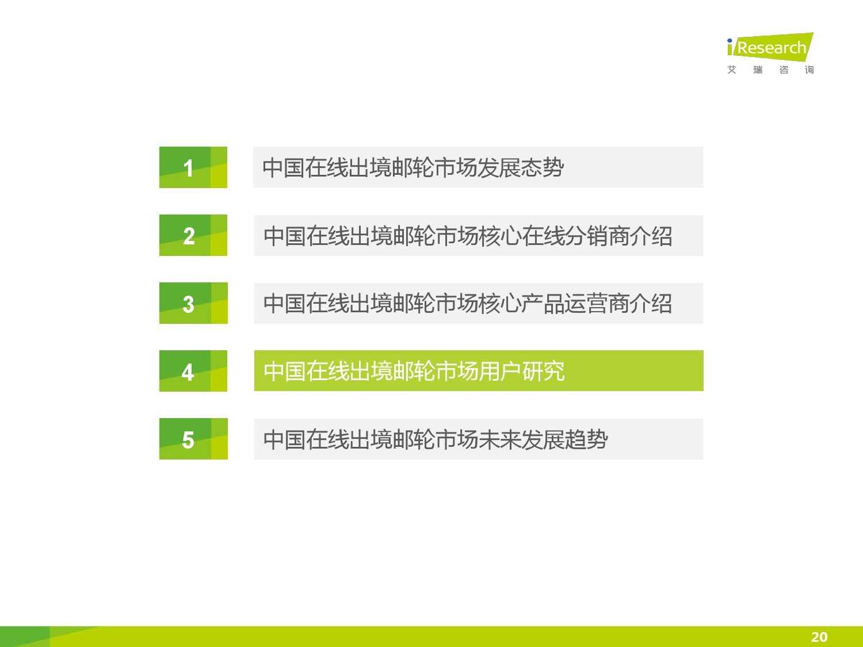 2015年中国在线出境邮轮市场研究报告_000020