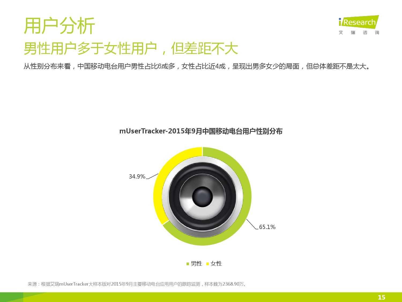2015年中国移动电台行业研究报告_000015