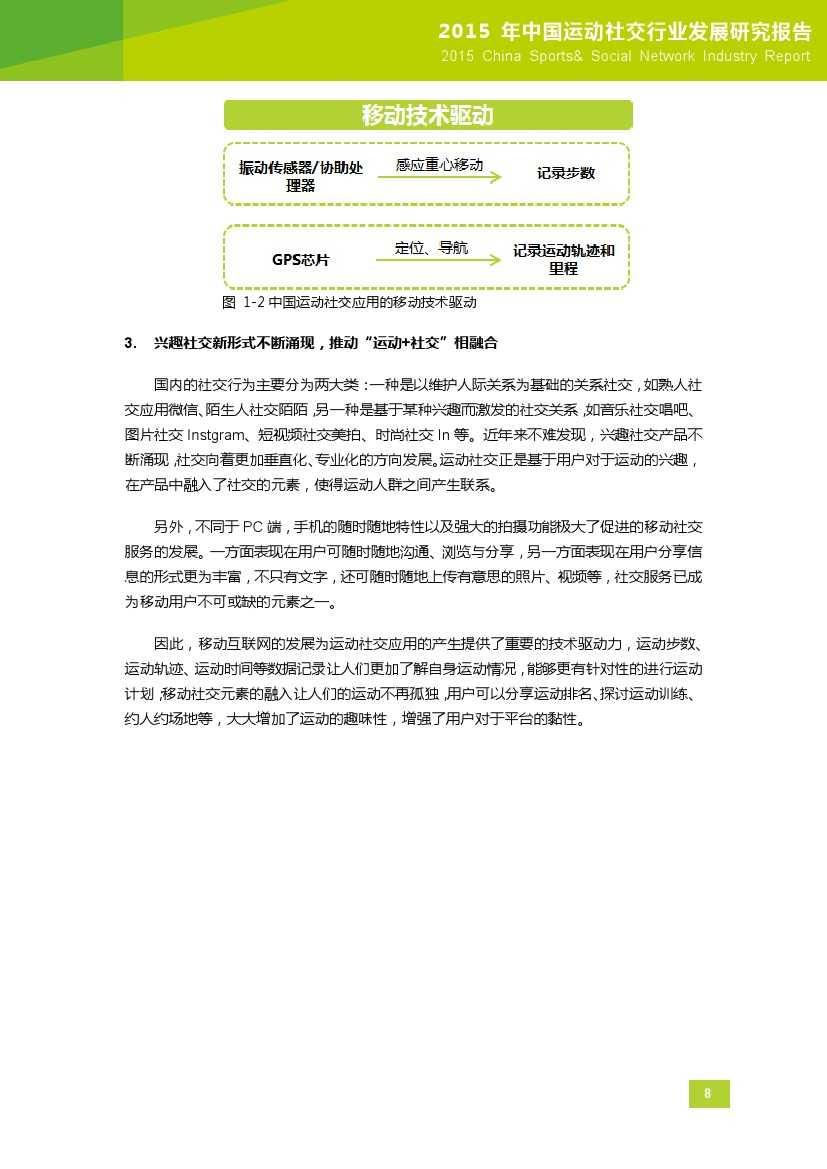 2015年中国运动社交行业发展研究报告_000009