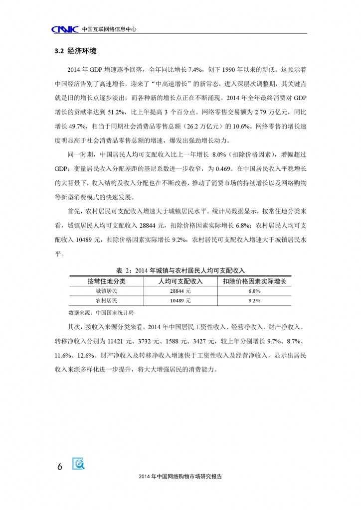 CNNIC:2014年中国网络购物市场研究报告_000016