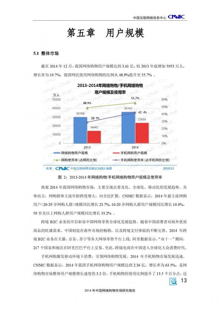 CNNIC:2014年中国网络购物市场研究报告_000023