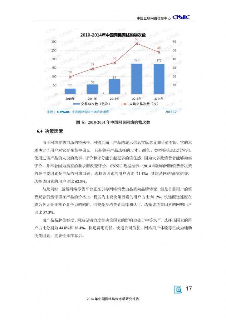 CNNIC:2014年中国网络购物市场研究报告_000027