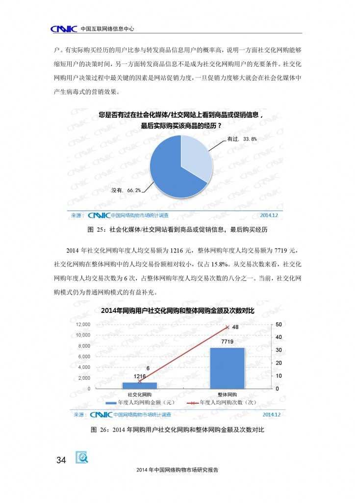CNNIC:2014年中国网络购物市场研究报告_000044