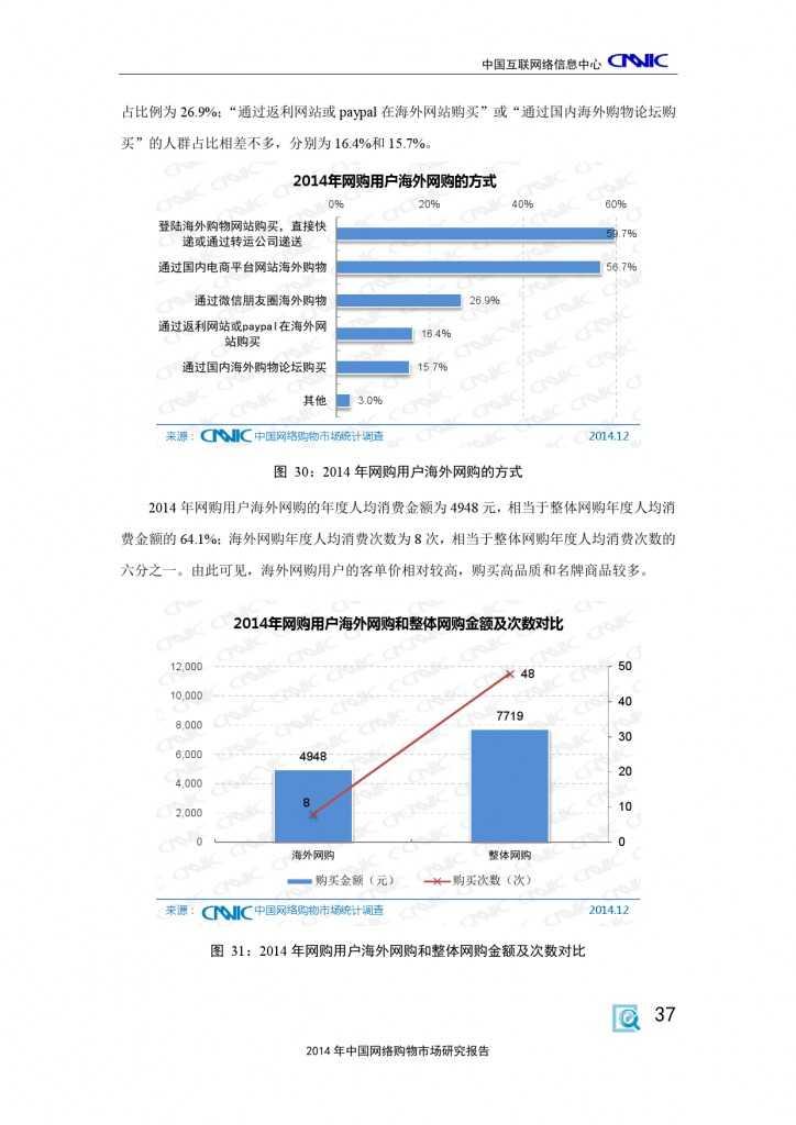 CNNIC:2014年中国网络购物市场研究报告_000047