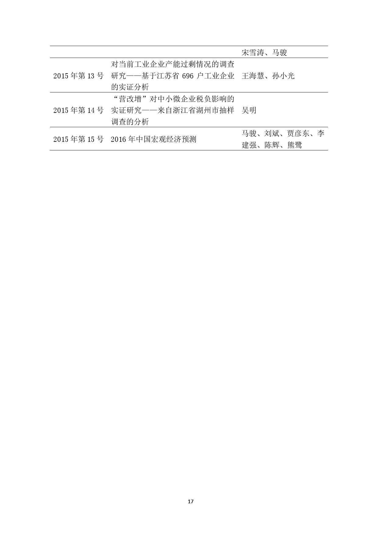 中国人民银行:2016 年中国宏观经济预测_000017