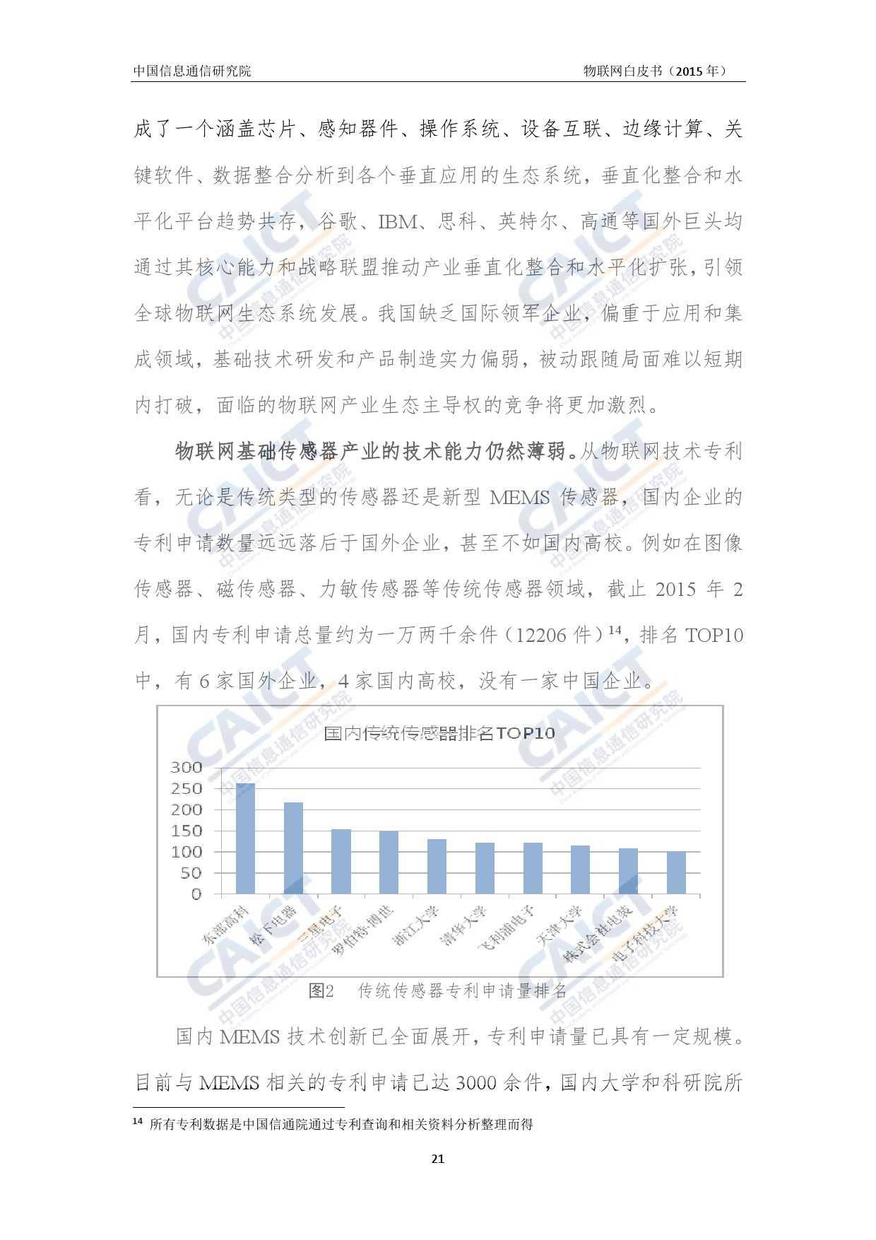 中国信息通信研究院:2015年物联网白皮书_000025