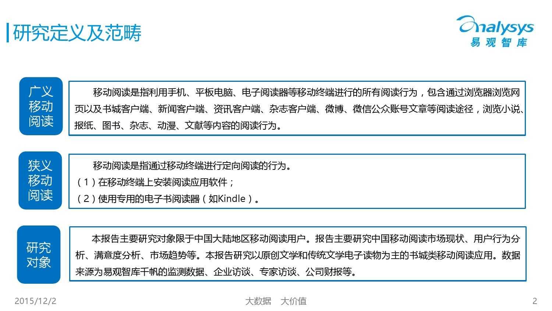 中国移动阅读市场专题研究报告2015(简版) (1)_000002