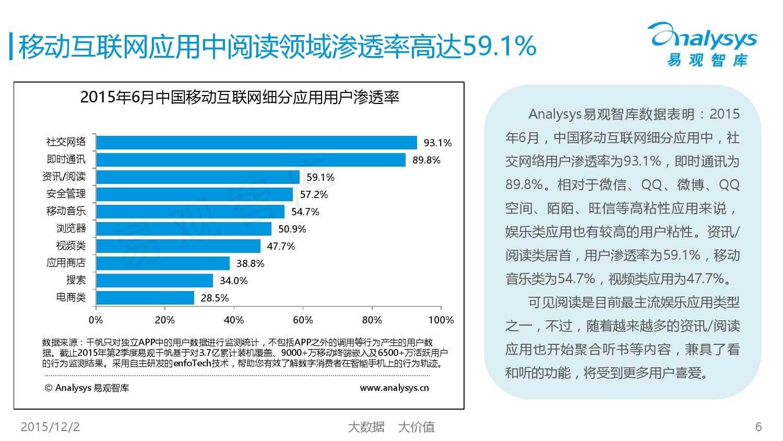 中国移动阅读市场专题研究报告2015(简版) (1)_000006