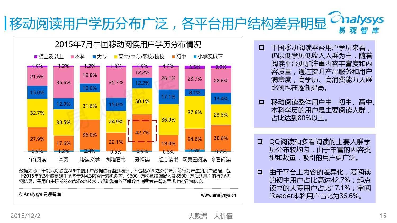 中国移动阅读市场专题研究报告2015(简版) (1)_000015