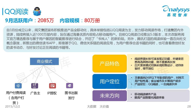 中国移动阅读市场专题研究报告2015(简版) (1)_000028