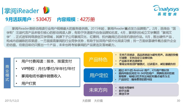 中国移动阅读市场专题研究报告2015(简版) (1)_000030