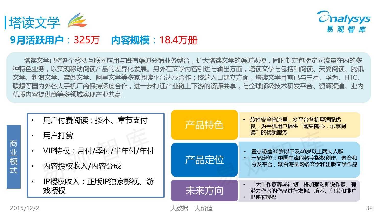 中国移动阅读市场专题研究报告2015(简版) (1)_000032