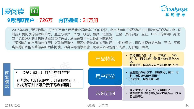 中国移动阅读市场专题研究报告2015(简版) (1)_000034