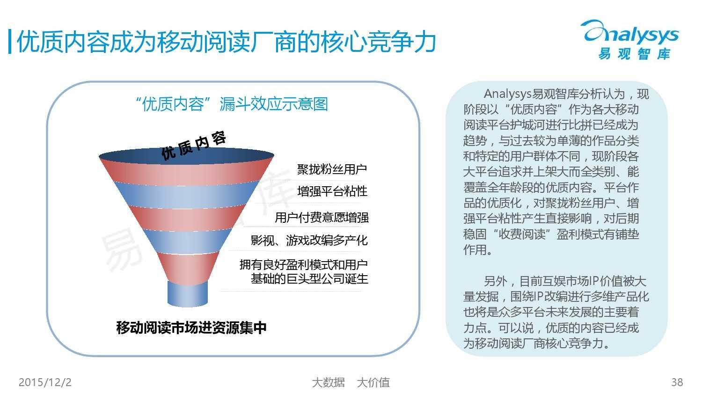 中国移动阅读市场专题研究报告2015(简版) (1)_000038
